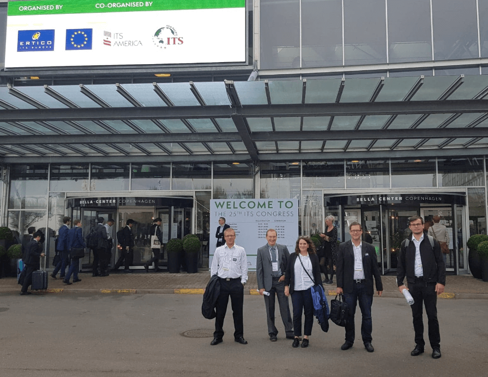 Asist presents project V2I Smart highway at the ITS world congress in Copenhagen 2018